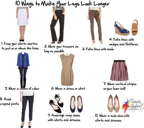 Ways to Make Your Legs Look Longer