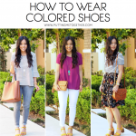 Ways To Style Colorful Shoes