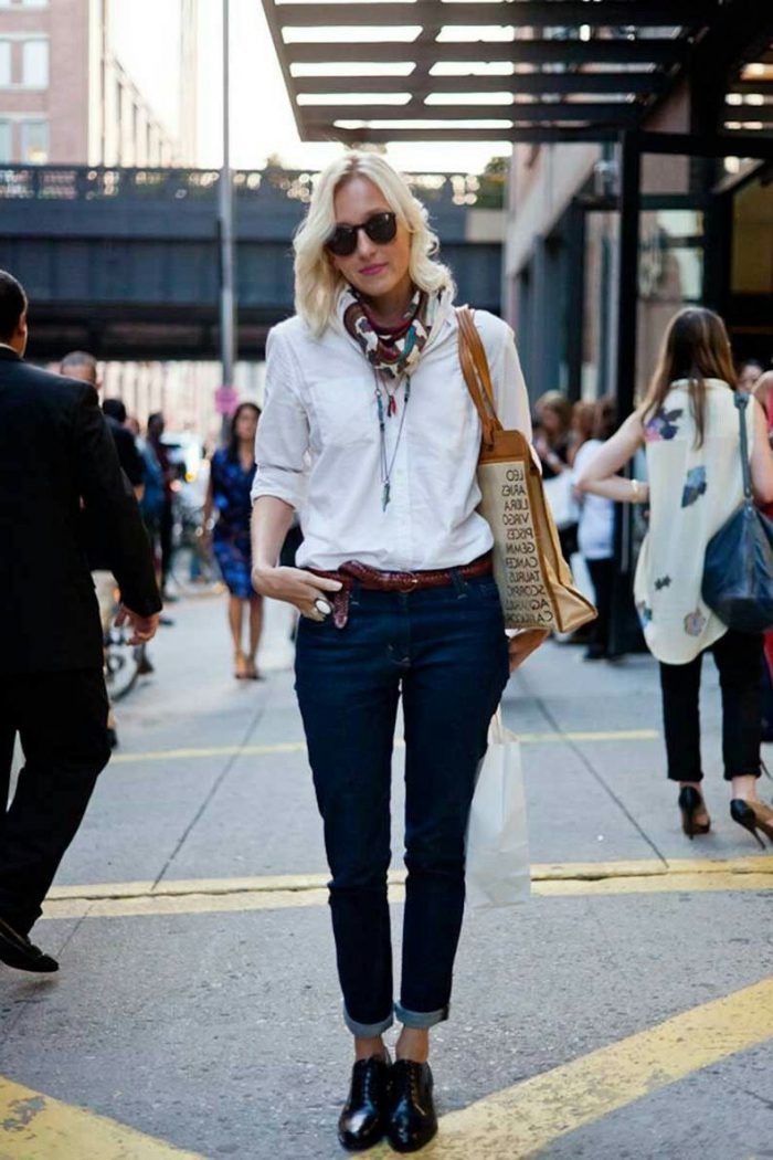 Ways To Wear Oxfords and Brogues For   Women
