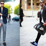 What Color Sneakers To Wear With Black   Blazer Outfit
