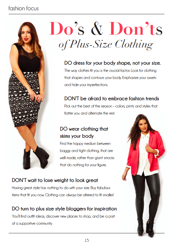 What Plus Size Fashion Rules