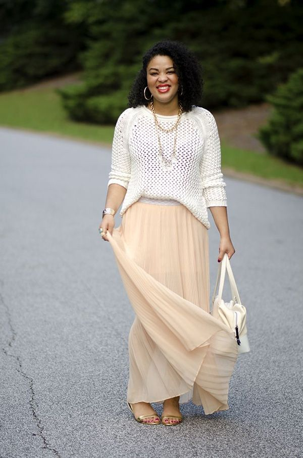 What Tops And Shoes To Wear with Long   Skirts