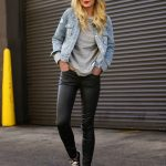 What wear With Leather Pants