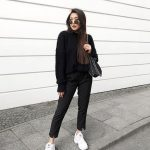 White Chunky Sneakers Outfit