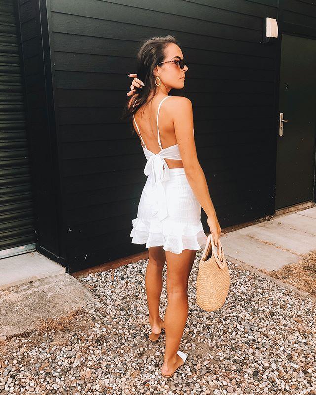 White Co-ords For Summer