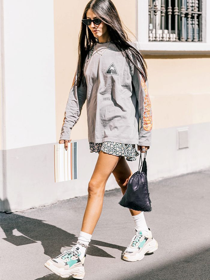 White Ugly Sneakers Outfit
