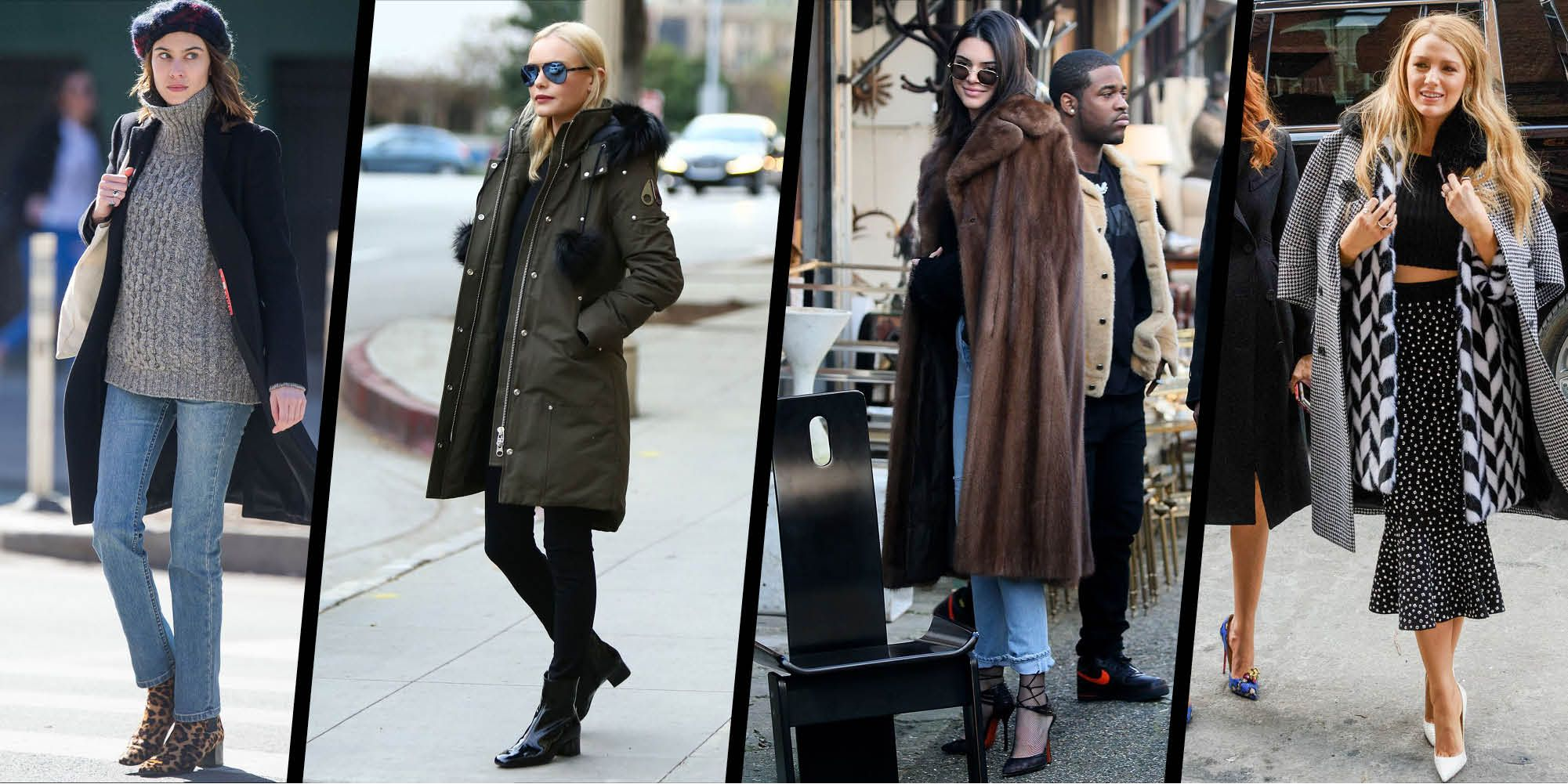 Winter Street Style Celebrity Outfits