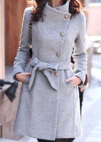 Wool Coats And Sweaters Outfit
