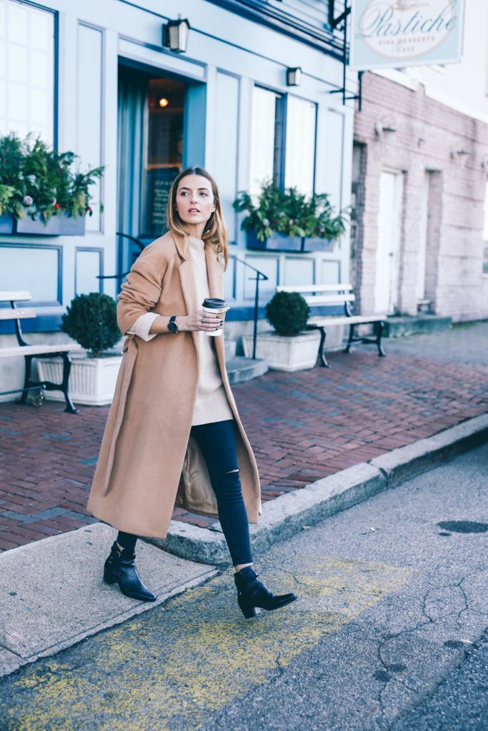 Wool Long Coats For Fall Outfit