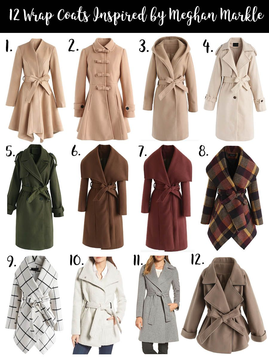 Wrap Coats For Winter Outfit